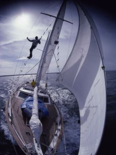 Sailing Along- GoPro style. It's the only way to sail and GoPro!