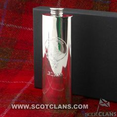 Blair Clan Crest Purse Flask