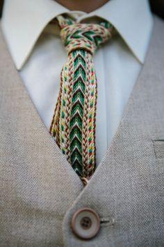 How fun is this tie!? Photo by Maži Stebuklai
