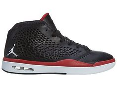Nike Jordan Flight 2015 Mens 768905-001 Black Red Basketball Shoes Size 8