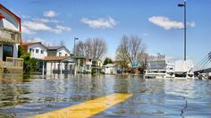 "Flooding in the Great Lakes basin getting worse under climate change. ""When you have to design the stormwater or flood-control structures, what used to be 25-year storm events have become five-year storm events now,"" he says. ""What used to be 100-year storm events have become 25-year storm events."" Upgrading infrastructure in the Great Lakes basin could cost hundreds of billions of dollars."
