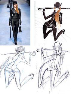 Steffi Schütze: fashion Hermes Fall 2010