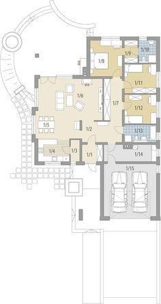 House Layout Plans, Duplex House Plans, Dream House Plans, House Layouts, House Floor Plans, Bungalow House Design, Modern House Design, Old Farm Houses, Building Plans