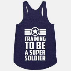 Training to be a Super Soldier | HUMAN | T-Shirts, Tanks, Sweatshirts and Hoodies