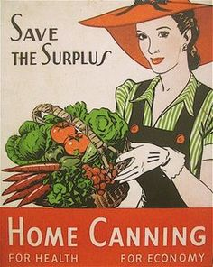 Love these vintage #canning signs!!!  Remember - From the Garden to the Jar with The Canning Diva! #gardentothejar