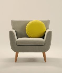 Cool chair for parents retreat - love the legs