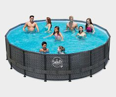 Awesome Ein kleines Gartenparadies mit erfrischendem Pool So l sst es sich im Sommer leben garten gartenpool swimmingpool schwimmbecken rundpool Pinterest