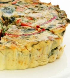 Quiche can be a healthy, go-to meal. That is, after you give is a drastic yet easy makeover. Learn how--and get 12 tasty new ways to fill a quiche. Breakfast And Brunch, Breakfast Recipes, Vegetarian Recipes, Cooking Recipes, Healthy Recipes, Cuban Recipes, Healthy Food, Delicious Recipes, Asparagus Quiche
