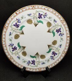 "Haviland Limoges IMPERATRICE EUGENIE Dinner Plate 10-1/4"" NICE #Haviland"