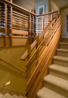 60s Upgrade - contemporary - staircase - seattle - Sam Van Fleet Photography