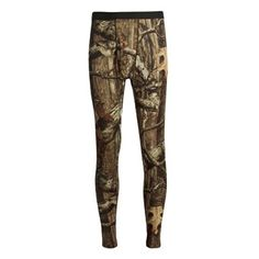 Save 25% On Pins From Sierra Trading Post!  Terramar Helix Camo Base Layer Bottoms - Lightweight (For Men) #Hunting