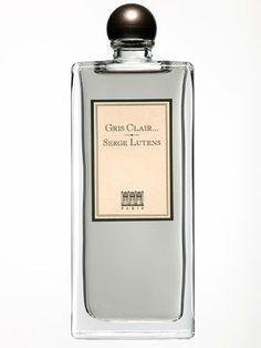 Serge Lutens' Gris Clair - smokey lavender, amber, tonka bean, iris, dry wood, incence