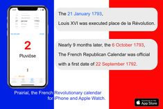 French Revolution fact: they cut the King's head, today 225 years ago ! Prairial, https://itunes.apple.com/app/prairial/id697920083