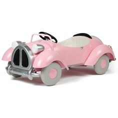 Speedster Pedal Car in Pink from PoshTots
