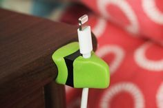 Organise your cables with LEGO and Sugru