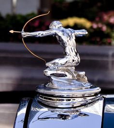 Hood Ornament Smart Vintage Brass Alvis Eagle Car Mascot Automobilia Rare