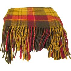 Pendleton Wool Tartan Plaid Stadium Blanket - Available from the The Old Stone Mansion on Ruby Lane.