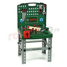 Jouet set d'outils en coffret Bosch http://www.rotopino.fr/jouet-set-d-outils-en-coffret-bosch,58559 #jouet #jeu #enfant #rotopino #bosch