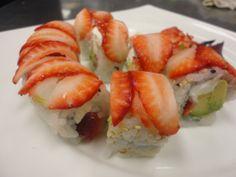 Strawberry Sushi - Azan Wok Restaurant