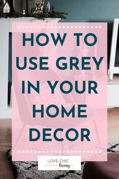 HLots of ideas on how to use grey in your home decor. Whether you would want a grey living room, office or kitchen, there are white and dark colour schemes for every home interior. Design your grey interior with pops of color and take inspiration from this modern shade. #lovechicliving#greyhome #greyinterior Popular Bedroom Colors, Popular Paint Colors, Gray Interior, Home Interior Design, Living Room Grey, Living Rooms, Grey Home Decor, Kitchen Trends, Colour Schemes