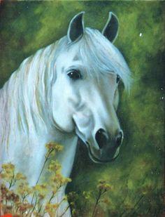 Resultado de imagen para caballo oleo sobre lienzo