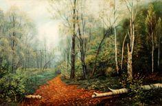 Осенняя свежесть: холст, масло, 60x80, 1995