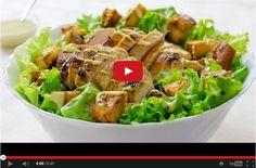 Reteta salata Caesar cu pui #caesarsalad #caesar #salad Prepare the yummiest Caesar Salad  with chicken meat