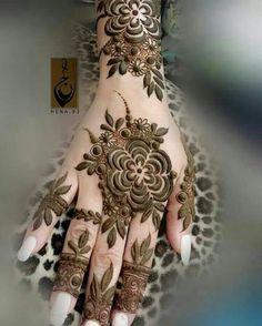 Khafif Mehndi Design, Floral Henna Designs, Basic Mehndi Designs, Henna Art Designs, Mehndi Designs 2018, Mehndi Designs For Beginners, Mehndi Design Pictures, Mehndi Designs For Girls, Mehndi Designs For Fingers