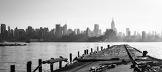 Manhattan Views Pano New York. Purchase this print in a beautifully prepared frame.  http://www.nikartphotography.com/