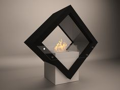 Flammengo PRIDE has an artistic design that compromises an inverted cube with and open from both sides. It is a freestanding piece of décor that stands with pride in any indoor location. Ideally, PRIDE can be used in open spaces like lobbies and galleries. #flammengo #ethanol #fireplace #burner #pride #bioethanol #Interior #Décor #design #Trend #interior_design #Dubai #decoration #architecture #fire #cheminee Bioethanol Fireplace, Fireplaces, Lobbies, Indoor, Open Spaces, Interior Design, Cool Stuff, Frame, Galleries
