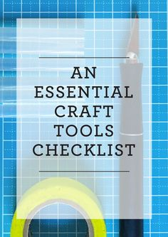 Every crafter needs
