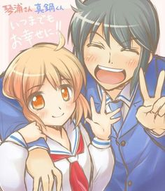 Kotoura-san If you're looking for that perfect adorable anime, this'll be it. It's kinda sad at first, but then it becomes something so cheerful and I love it.