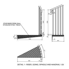 Spiral Stairs Cad Drawings Stairs Pinned By