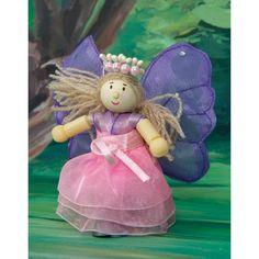 Le Toy Van Butterfly Fleur Fairy Doll - Set of 4 - HTI153