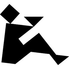 Tangram puzzle 22 : Offering - Visit http://www.tangram-channel.com/ to see the solution to this Tangram