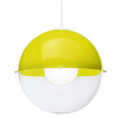 Koziol Orion Hanglamp - Transparent Mustard green