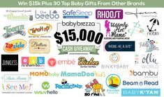 Cassandra M's Place: Baby Brezza $15k HUGE GIVEAWAY #giveaway #babygear...