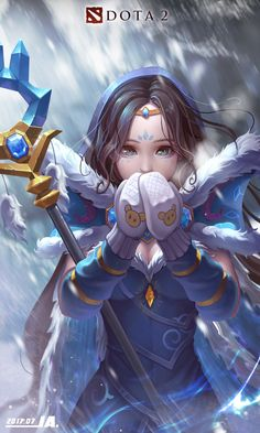 ArtStation - Crystal Maiden FAN, ✦ JA ✦You can find Dota 2 and more on our website. Dota 2 Iphone Wallpaper, Dota 2 Wallpapers Hd, Gaming Wallpapers, Animes Wallpapers, Hd Wallpaper, Juggernaut Dota 2, Epic Backgrounds, Character Art, Character Design