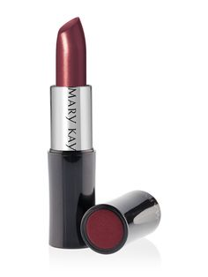 Mary Kay® Creme Lipstick in Red is the perfect lip color for Fall 2012.