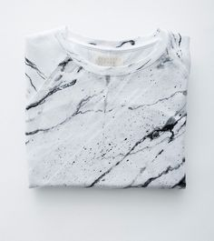 marble print.  Splatter paint or marble paint a piece of fabric.  Then make into a dress or tee shirt.