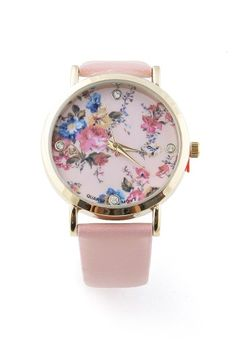 Rhinestone Blossom Watch - Trendy Watches at Pinkice.com