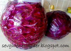 Sevgiden Esintiler: Hazır Salata ( Kırmızı Lahana Turşusu).....