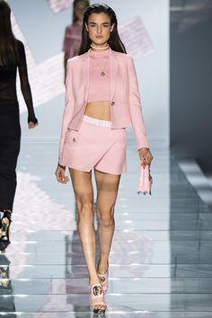 Versace Spring/Summer 2015 ready-to-wear #MFW #Milan #FashionWeek