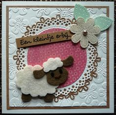 Creaties van Hetty: babykaart