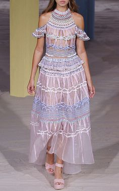 Fantasia Halter Dress by TEMPERLEY LONDON for Preorder on Moda Operandi