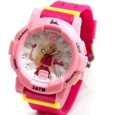 FW959D Magenta Band Round Pink Watchcase Water Resist Ladies Women Fashion Watch