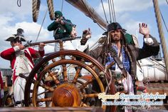 Ahoy! It's the Plymouth Barbican Pirate Weekend 2014