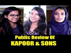 Public Review of KAPOOR & SONS movie | Sidharth Malhotra, Alia Bhatt, Fawad Khan.