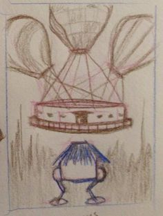 "Concept sketch ""The Walking House"" Jeff Young #GaslightandGrimm https://www.kickstarter.com/projects/e-specbooks/gaslight-and-grimm-steampunk-faerie-tales Kickstarter Kelly A. Harmon"