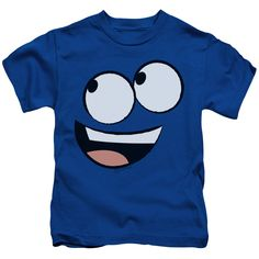 Foster's Home for Imaginary Friends: Blue Face Juvy T-Shirt